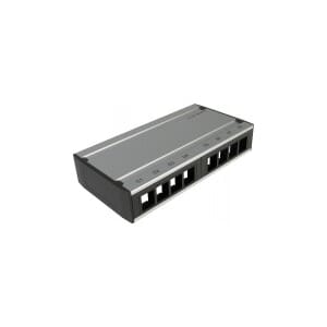 Patchboks tom 8-port keystone - Lanse